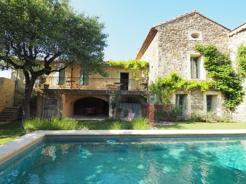 Deluxe sale house / villa Uzes 640000€ - Picture 1
