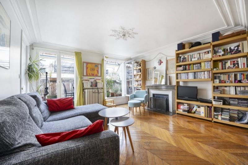Vente de prestige appartement Paris 9ème 1095000€ - Photo 2