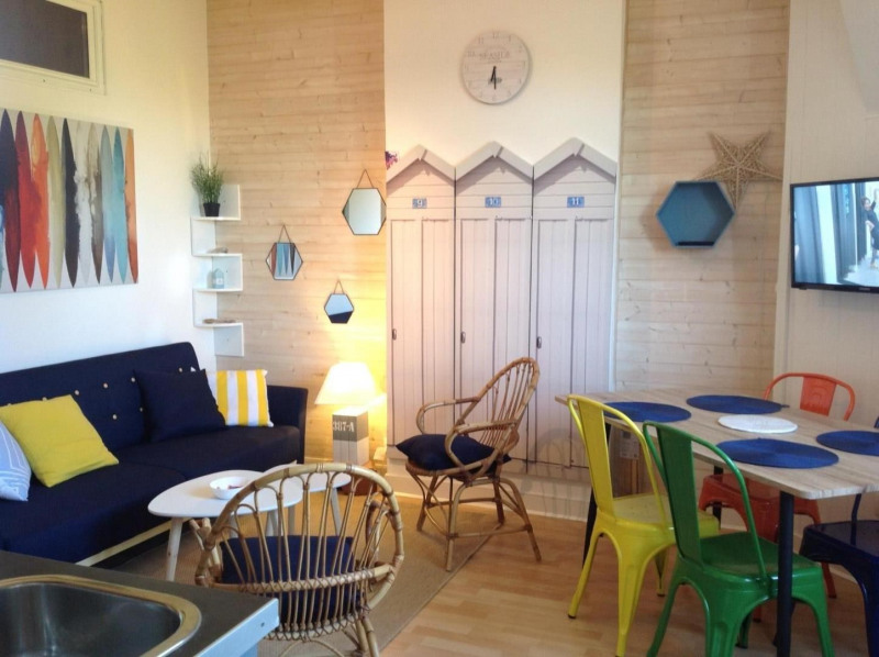 Vacation rental apartment Arcachon 565€ - Picture 1