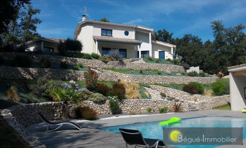 Vente de prestige maison / villa 15 mns pibrac 639000€ - Photo 1