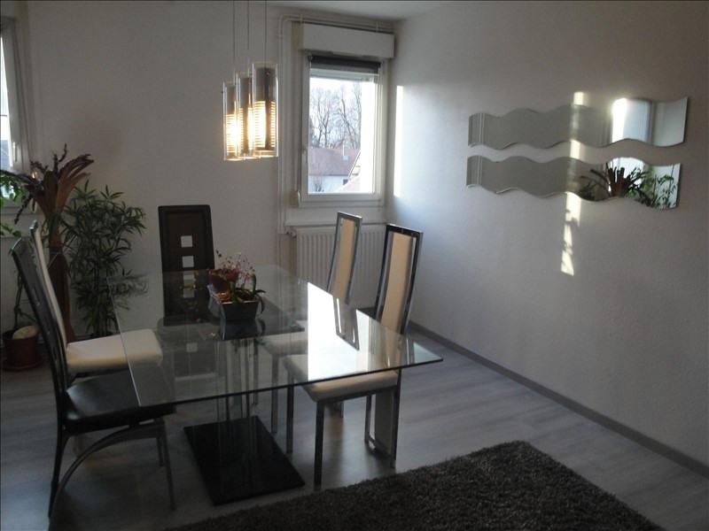 Verkoop  appartement Beaucourt 88000€ - Foto 6
