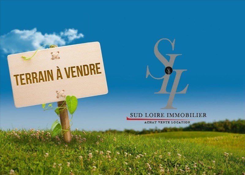 Vente terrain Vineuil 130 000€ - Photo 1
