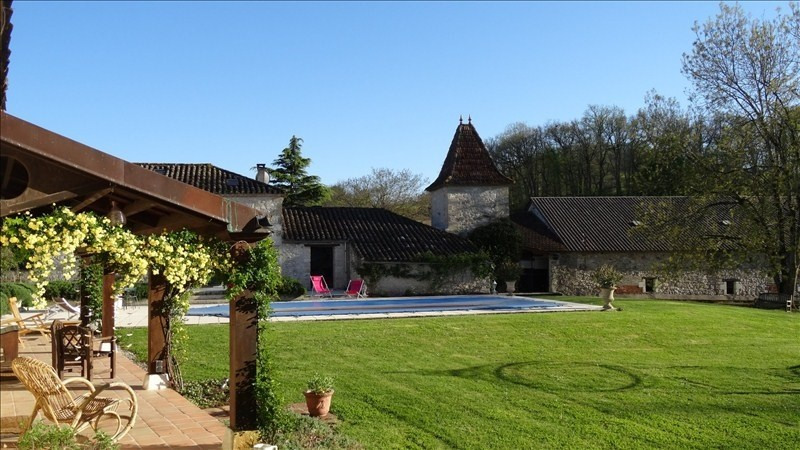 Deluxe sale house / villa Montaigu de quercy 436 800€ - Picture 9