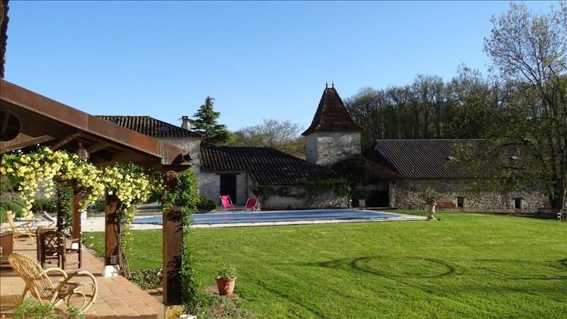 Deluxe sale house / villa Montaigu de quercy 436800€ - Picture 9