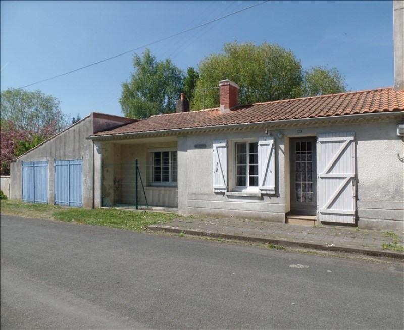 Vente maison / villa Challans 117150€ - Photo 1