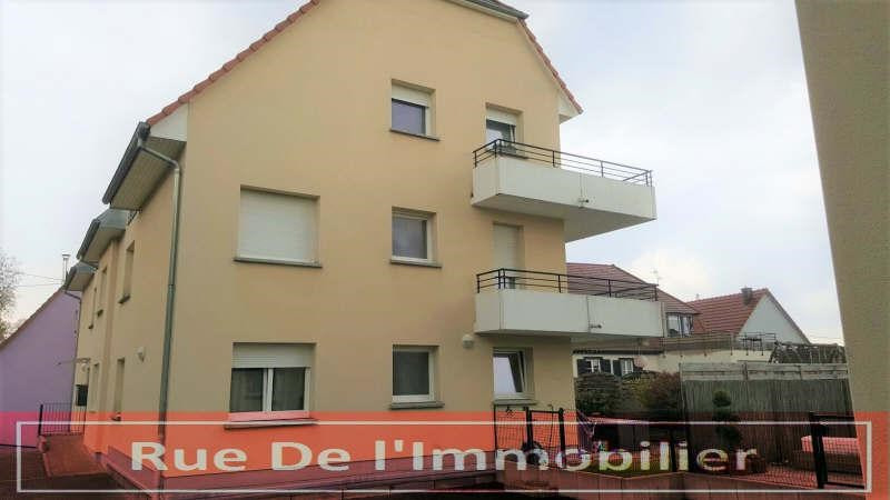 Sale apartment Geudertheim 156 800€ - Picture 1