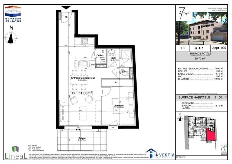 Vente appartement La teste de buch 240000€ - Photo 3