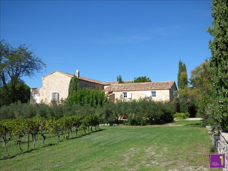 Vente de prestige maison / villa Uzes 1395000€ - Photo 2