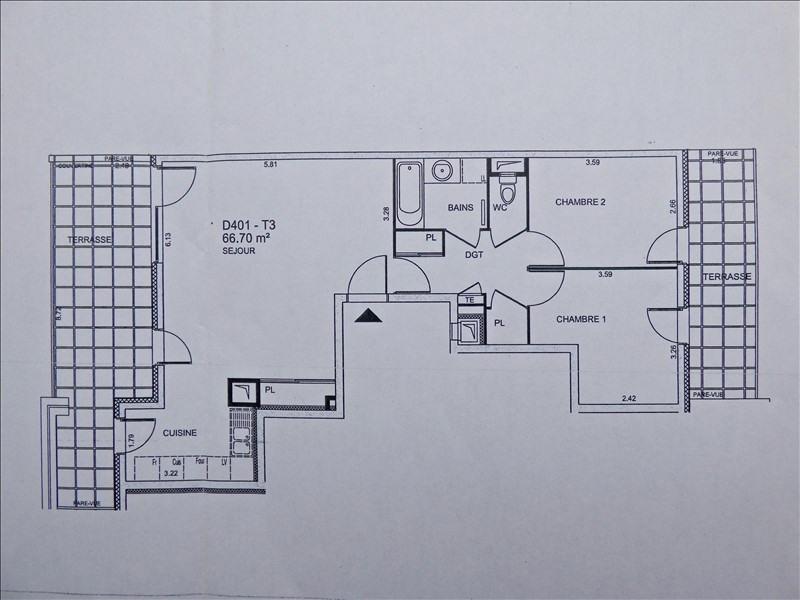 Vente appartement Aix les bains 299000€ - Photo 8