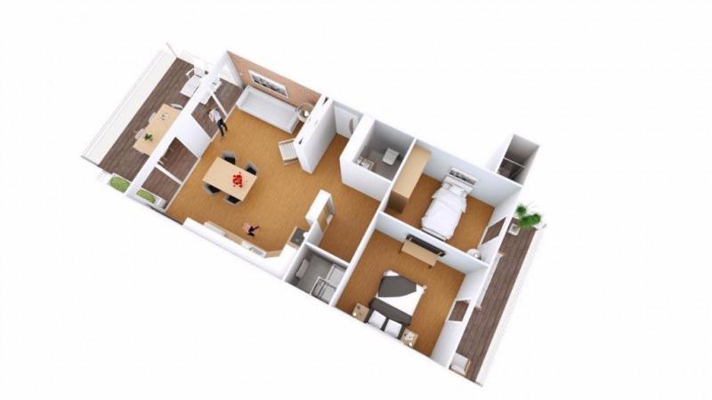 Vendita appartamento Juan les pins 495000€ - Fotografia 9