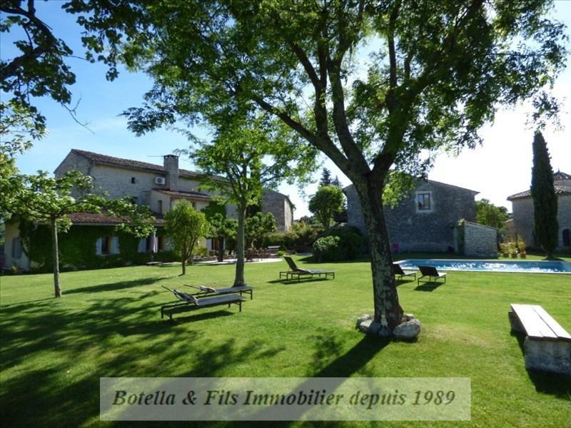 Vente de prestige maison / villa Lussan 789000€ - Photo 10