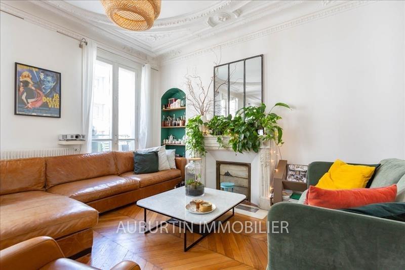 Vente de prestige appartement Paris 18ème 960000€ - Photo 3