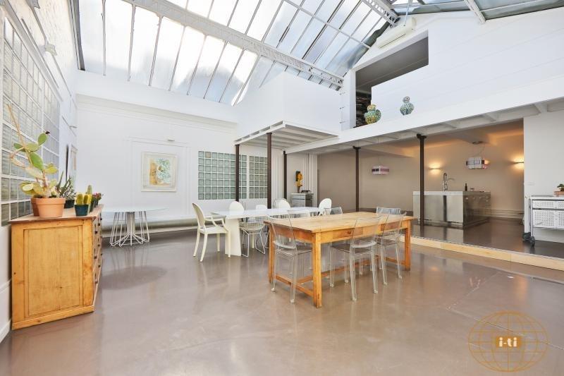 Deluxe sale loft/workshop/open plan Paris 18ème 1230000€ - Picture 2