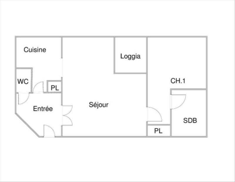 Vente appartement Voisins le bretonneux 179000€ - Photo 2