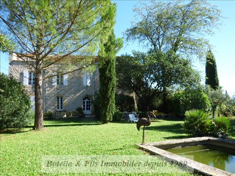 Deluxe sale house / villa Uzes 1195000€ - Picture 1