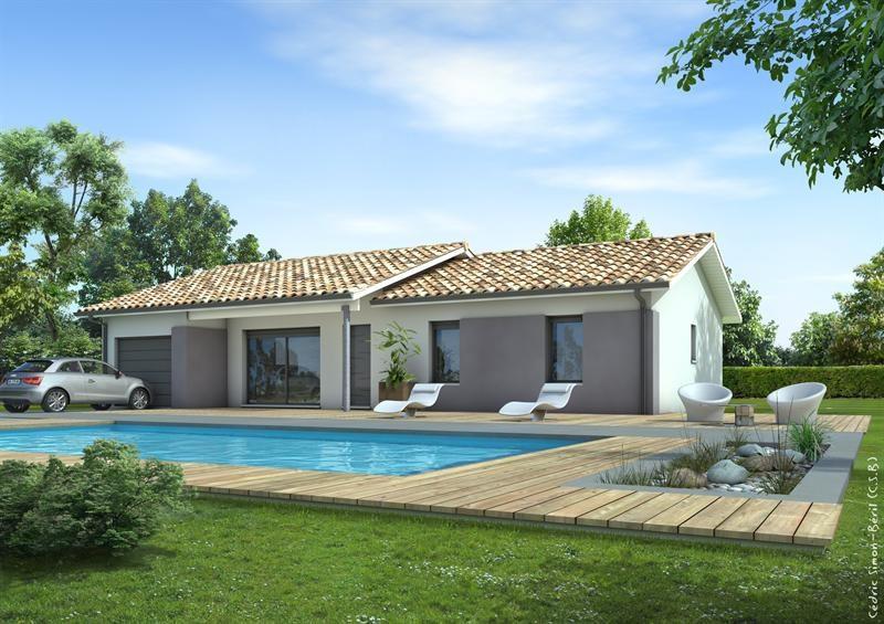 Maison  5 pièces + Terrain 1500 m² Eauze par LES MAISONS LCA MONT DE MARSAN