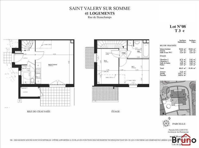 Vente maison / villa St valery sur somme 158000€ - Photo 5