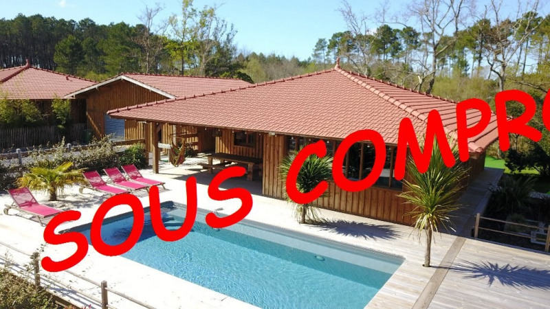 Venta de prestigio  casa Lacanau 501600€ - Fotografía 1