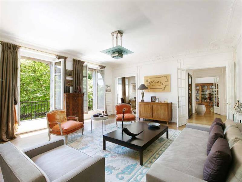 Revenda residencial de prestígio apartamento Paris 16ème 4200000€ - Fotografia 1