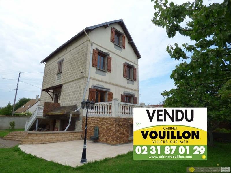 Vente maison / villa Villers sur mer 390000€ - Photo 1