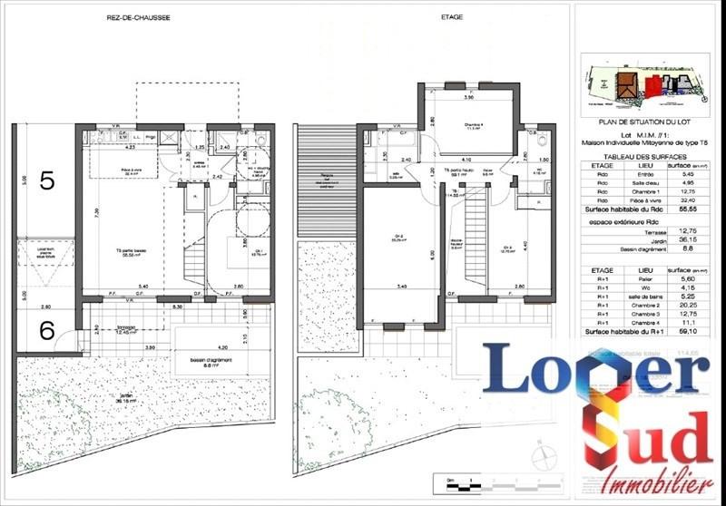 Vente maison / villa Castelnau le lez 409000€ - Photo 6