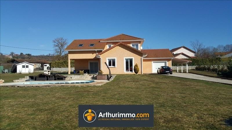 Vente maison / villa Morestel 334000€ - Photo 1