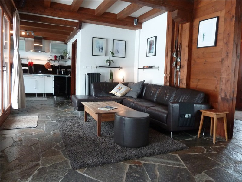 Deluxe sale apartment Les houches 795 000€ - Picture 3