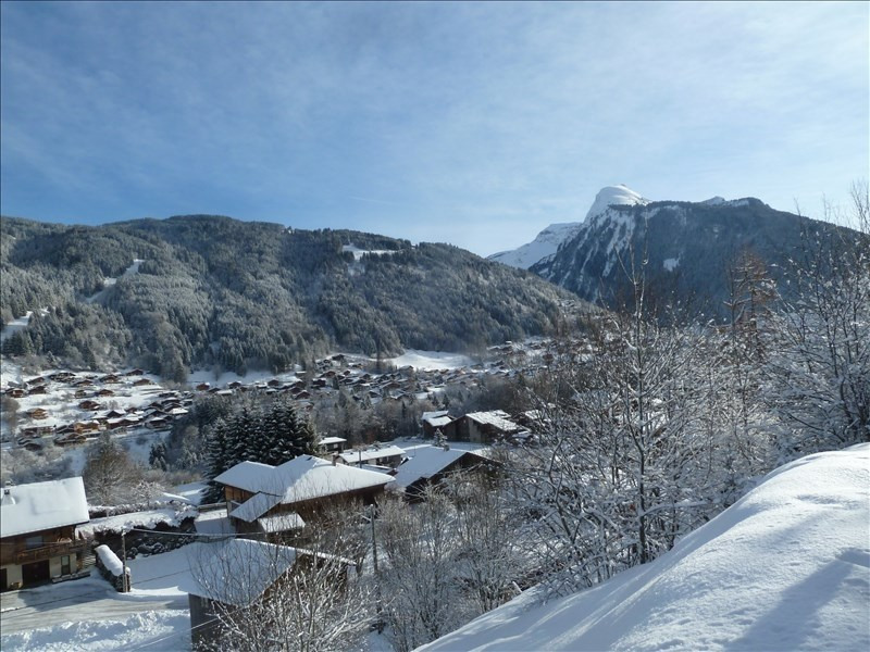 Vente de prestige appartement Morzine 628 000€ - Photo 2