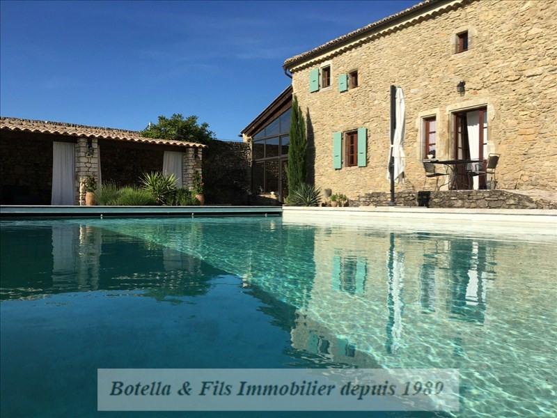 Vente de prestige maison / villa St paulet de caisson 825000€ - Photo 1