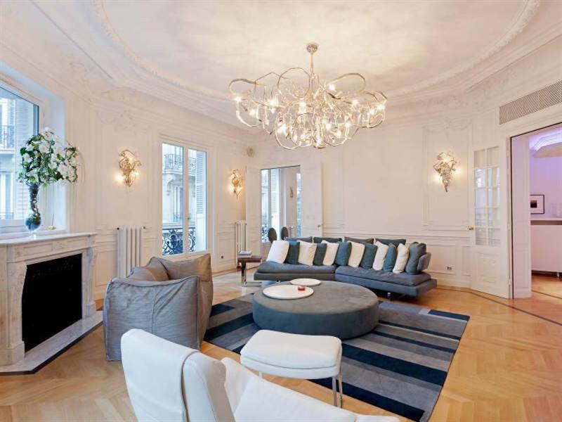 Verkoop van prestige  appartement Paris 8ème 4995000€ - Foto 1