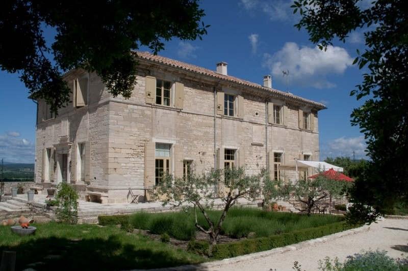 Immobile residenziali di prestigio casa Uzes 1365000€ - Fotografia 1
