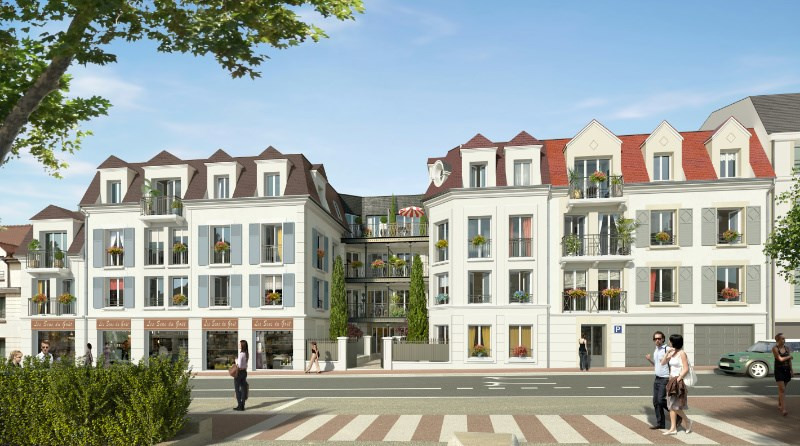 Arts en seine programme immobilier neuf bougival for Immobilier neuf idf