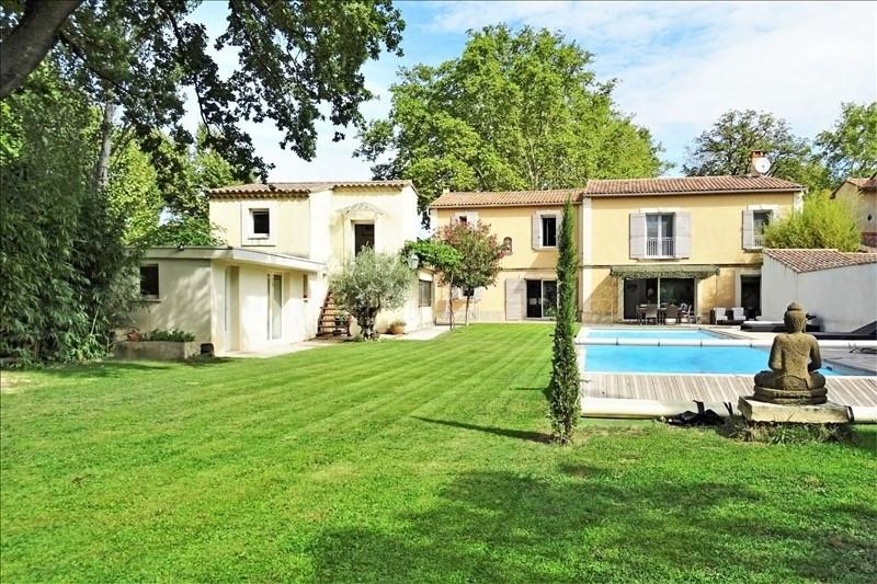 Vente de prestige maison / villa Montfavet 667800€ - Photo 1