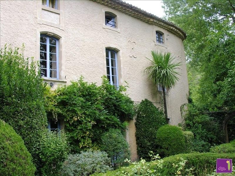 Vente de prestige maison / villa Uzes 680000€ - Photo 1