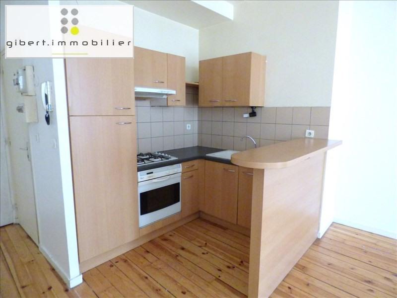 Rental apartment Le puy en velay 398,75€ CC - Picture 1