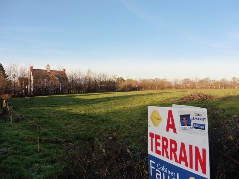 Verkoop  stukken grond Le mesnil aubert 33700€ - Foto 2