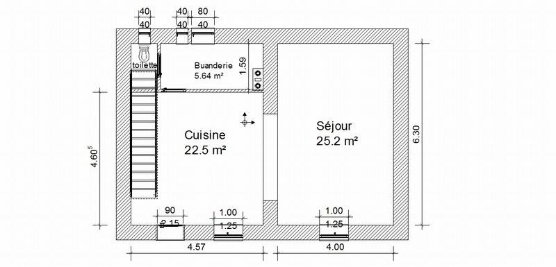 Vermietung haus St marcel bel accueil 980€ CC - Fotografie 9