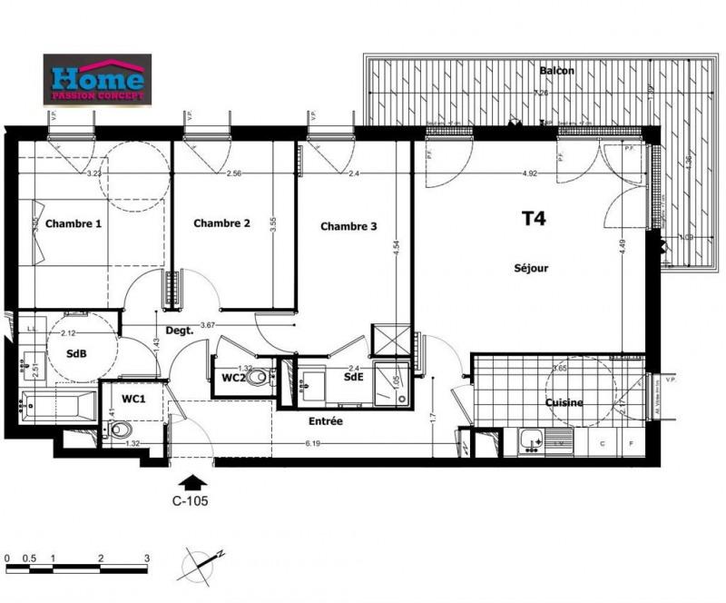 Sale apartment Rueil malmaison 560000€ - Picture 1