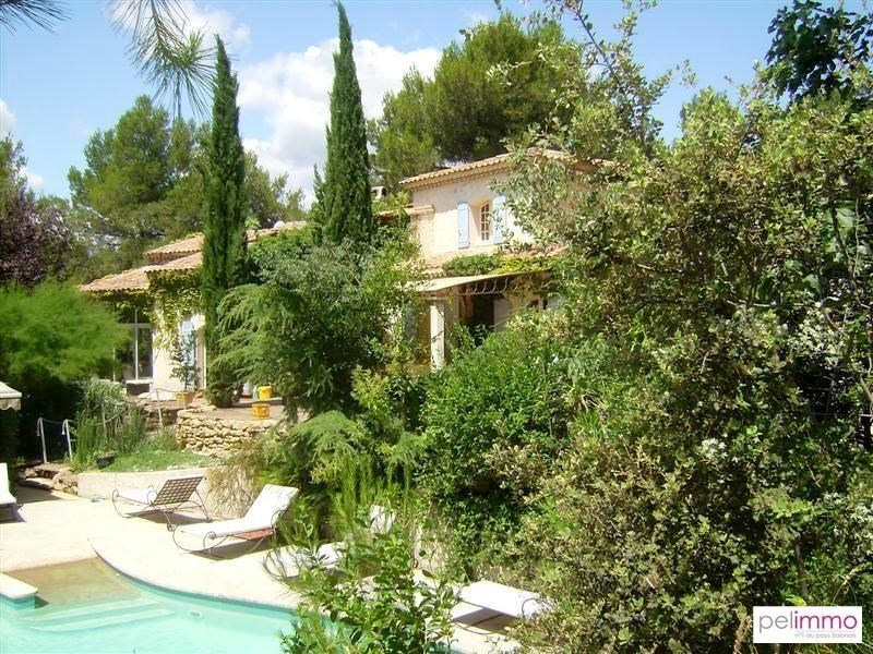 Vente de prestige maison / villa Pelissanne 600000€ - Photo 1