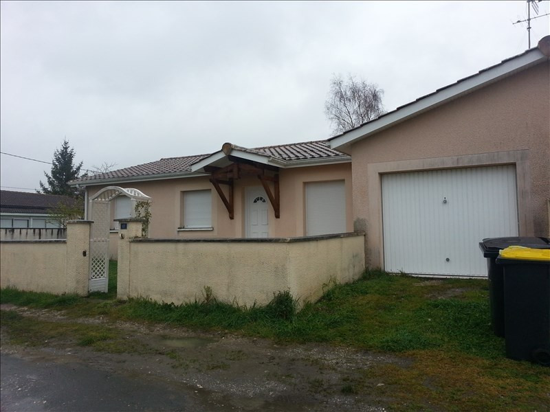 Rental house / villa Moulis en medoc 798€ CC - Picture 1