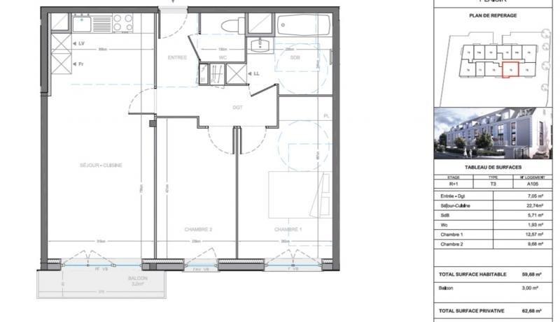 Produit d'investissement appartement Plaisir 241000€ - Photo 10