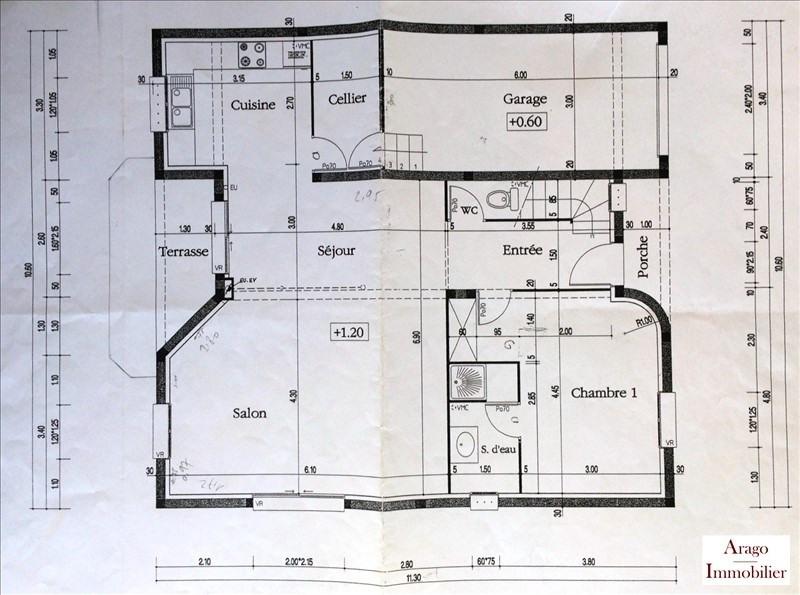 Vente maison / villa St laurent de la salanque 325400€ - Photo 10