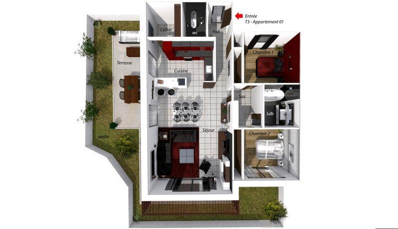 New home sale program Les issambres  - Picture 4