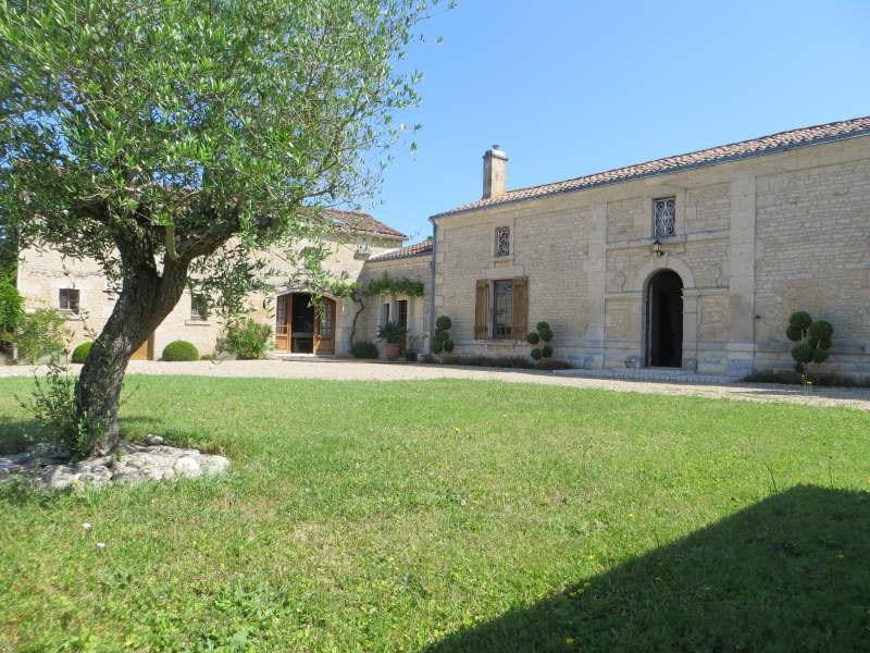 Vente maison / villa Nieul-sur-l'autise 393000€ - Photo 1