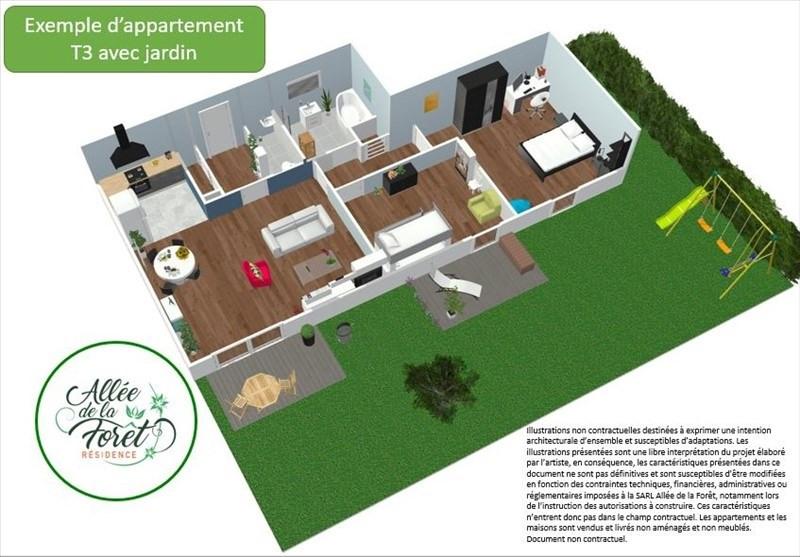 Produit d'investissement appartement Breval 180000€ - Photo 3