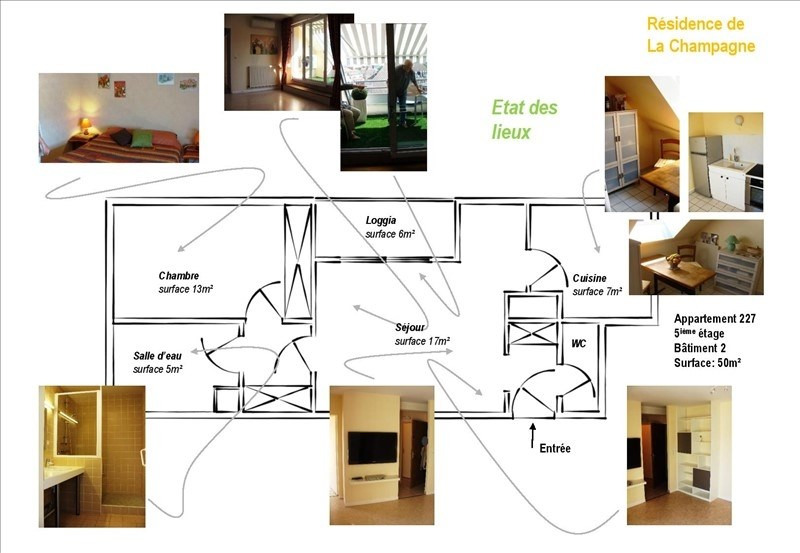 Investment property apartment Troyes 79 000€ - Picture 9