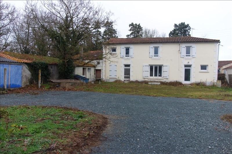 Vente maison / villa Le poire sur velluire 78000€ - Photo 1