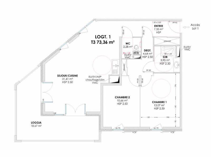 Vente appartement Miramas 185400€ - Photo 3