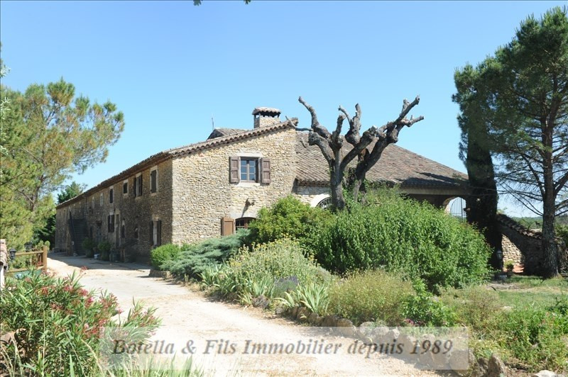 Deluxe sale house / villa Lussan 1092000€ - Picture 3