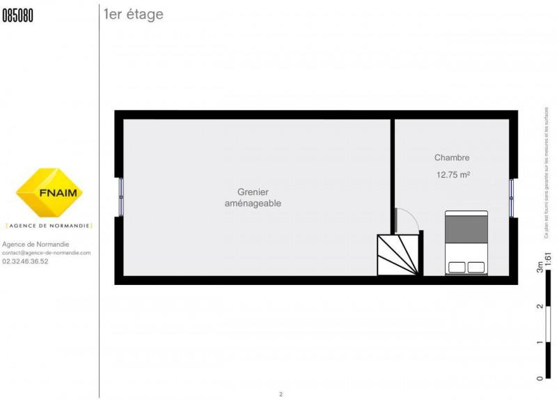 Sale house / villa La ferte-frenel 75000€ - Picture 8